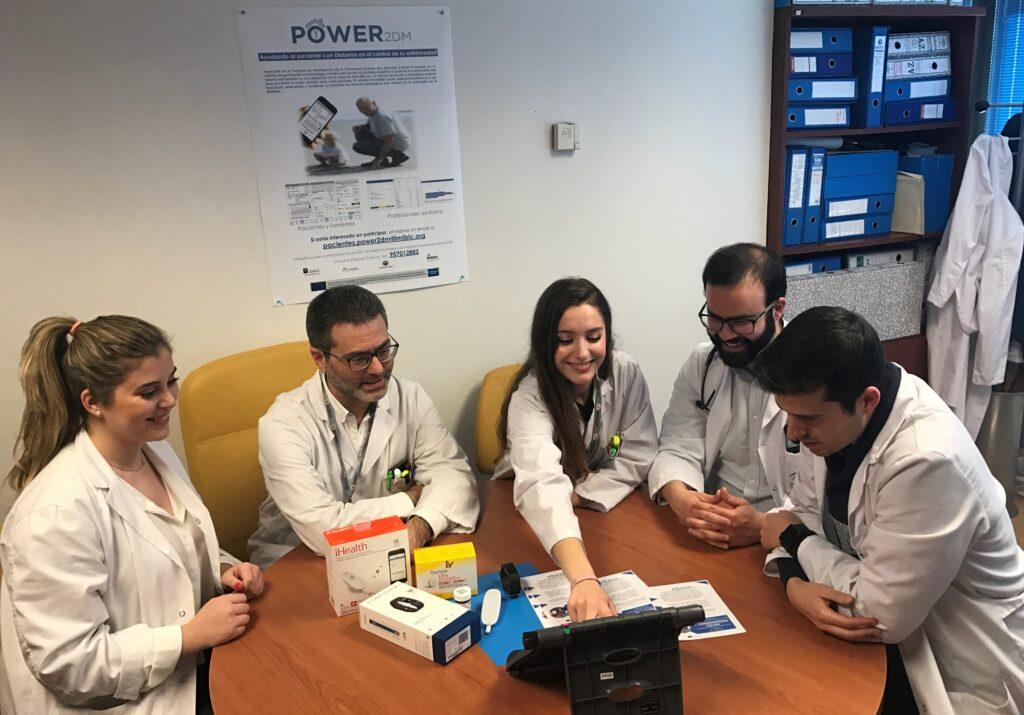 Sofía Castro, Alumni de Zalima, en el Proyecto POWER2DM de IMIBIC