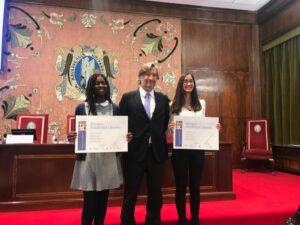 Mónica Perea y María Flores, premio Excelencia Literaria