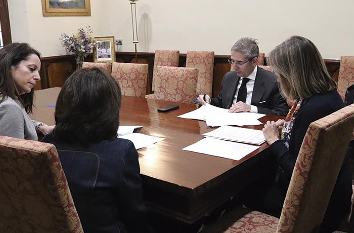 El Palacio de Congresos y Zalima firman un convenio de colaboración