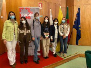 Un grupo de alumnas y profesoras de Zalima realizan una movilidad Erasmus+ en Portugal